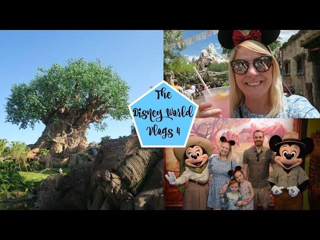DISNEY WORLD VLOGS 2017: Day 4 ANIMAL KINGDOM Meeting Mickey & Minnie!