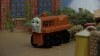 Wooden Railway Reviews - 1993 Black-wheeled Terence