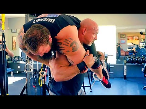The Greatest Wrestler Bill Goldberg - Returned to the Powerful Training!!!