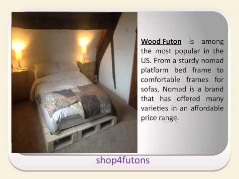 Wood Futon
