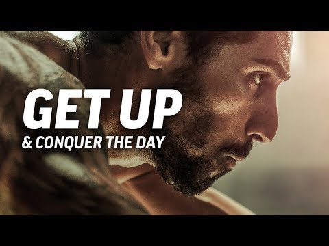 GET UP AND CONQUER THE DAY - Powerful Motivational Speech Video (Featuring Mat Wilson)