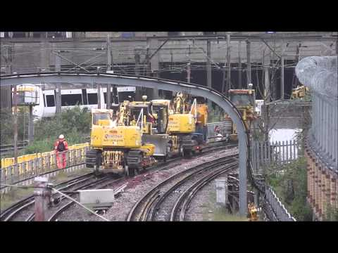 Trains, Cranes (sort of), & Tamping Machines