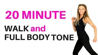 HOME WORKOUT - WALKING WORKOUT &  FULL BODY - suitable for beginners workout & weight loss START NOW