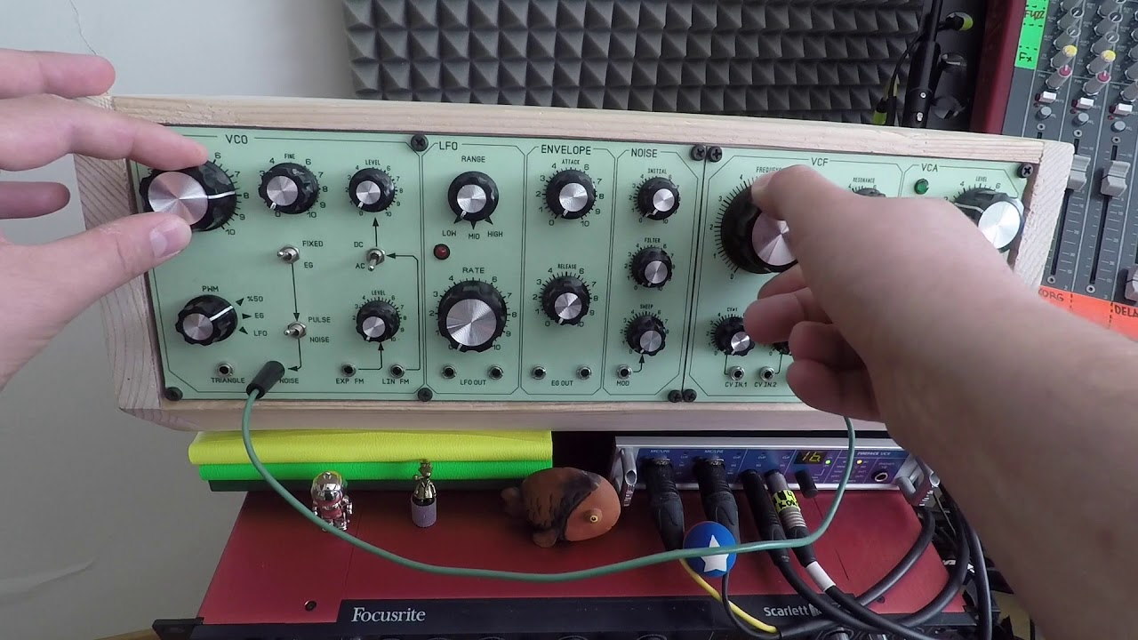 The SN-Voice (THOMAS HENRY Designs) VCO / VCF