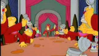 The Simpsons Stonecutters Song