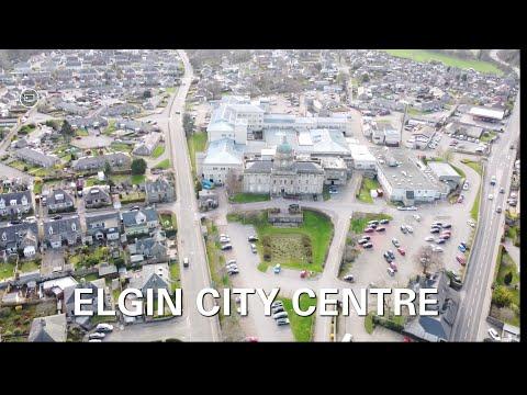 ELGIN CITY CENTRE   DRONE SHOT   #djimini2