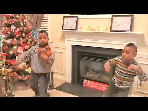DJ Snake - Taki Taki - (kids Violin Cover) Ozuna Cardi B By Tyler Butler-Figueroa And Bro. Adam