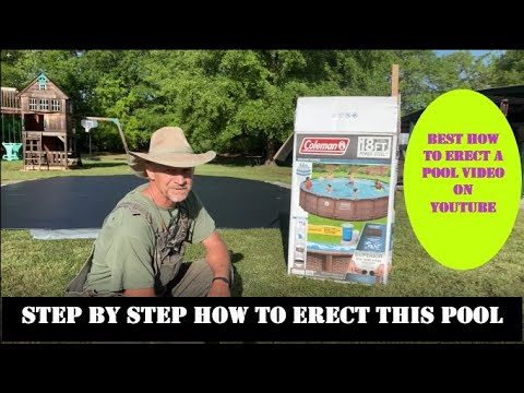 Download How to Install an Above Ground Swimming Pool / STEP by STEP / Coleman 18' Power Steel  Deluxe Series
