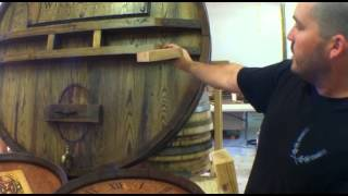 Restaurant Decor - Wine Decor, Barrel Carvings and Wine Tanks