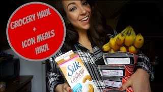 Bikini Prep Grocery Haul + Icon Meals | Vlogmas 2015 Day 9
