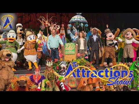 The Attractions Show! - Animal Kingdom's 20th; Voodoo Doughnuts; latest news