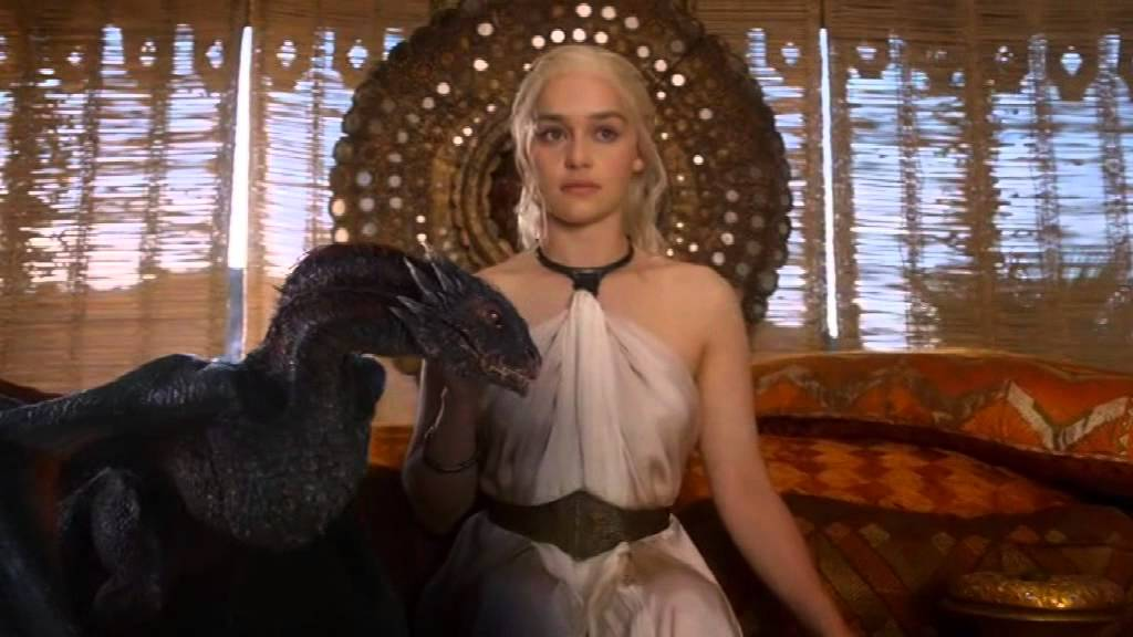 Khaleesi And Her Dragons Youtube