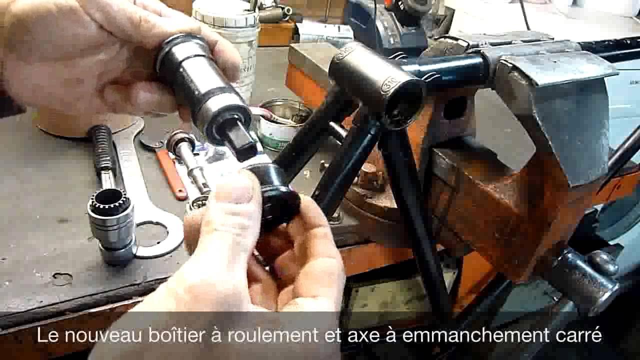 Original Vélo Fourche à ressort vis centrale//écrou chrome beach cruiser bike PARTS