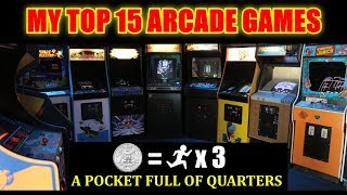 Top 15 Arcade Games from the 1980