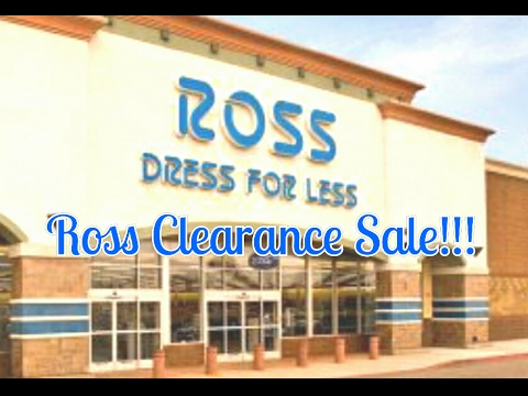 Ross Dress for Less/Clearance Sale Haul!!!