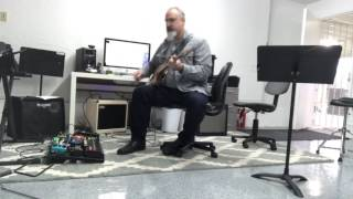 A quick demo DV Mark Jazz 1x12 amp with pedals