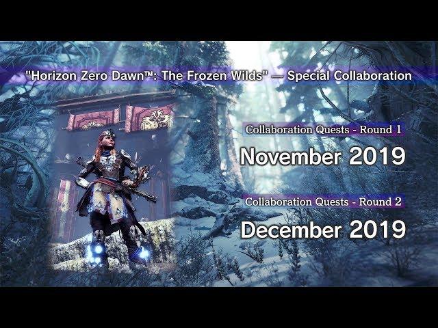 MHW: Iceborne x Horizon Zero Dawn: The Frozen Wilds (Release Date)