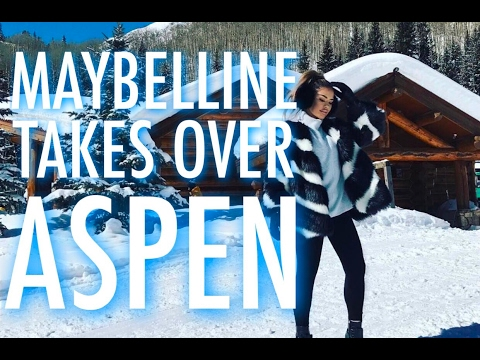 Aspen Vlog with Maybelline | iluvsarahii