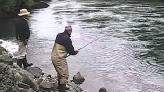 Fly Fishing South America Petrohue – Chinook  Salmon – Flyfishing South America Travel