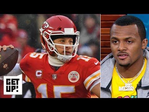 Patrick Mahomes needs to protect the ball to win vs. Tom Brady, Patriots - Deshaun Watson | Get Up!