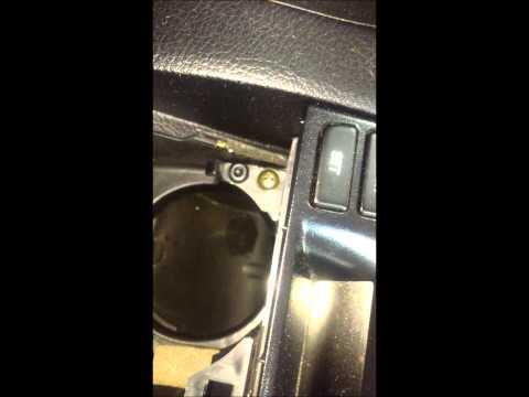 2006 Mazdaspeed6 Dash Storage Compartment Replacement