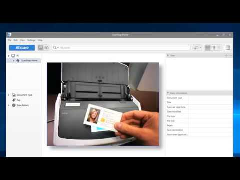 Scansnap Ix1500 Tips How To Export A Contact Into Outlook
