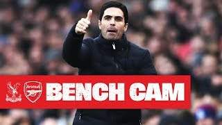 BENCH CAM | Crystal Palace 1-1 Arsenal | Premier League