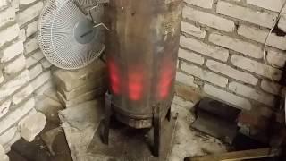 Печка БУБАФОНЯ на масле.