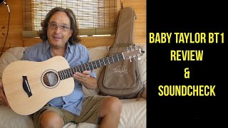 Baby Taylor BT 1 Review and Sound Check
