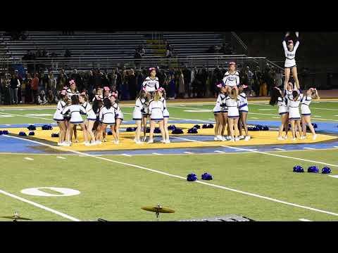Benicia High School Cheer Leaders on Friday, 10/11/2019