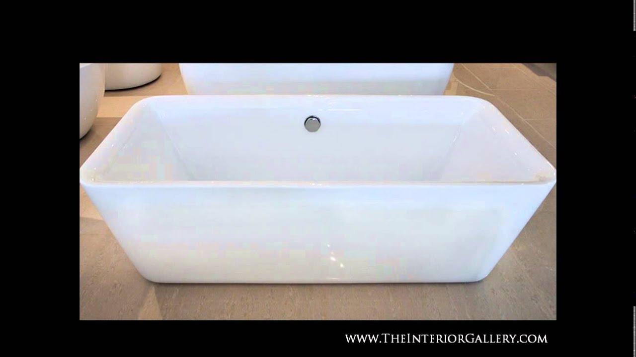Acrylic Modern Bathtub - Freestanding Bathtub - Soaking Tub ...