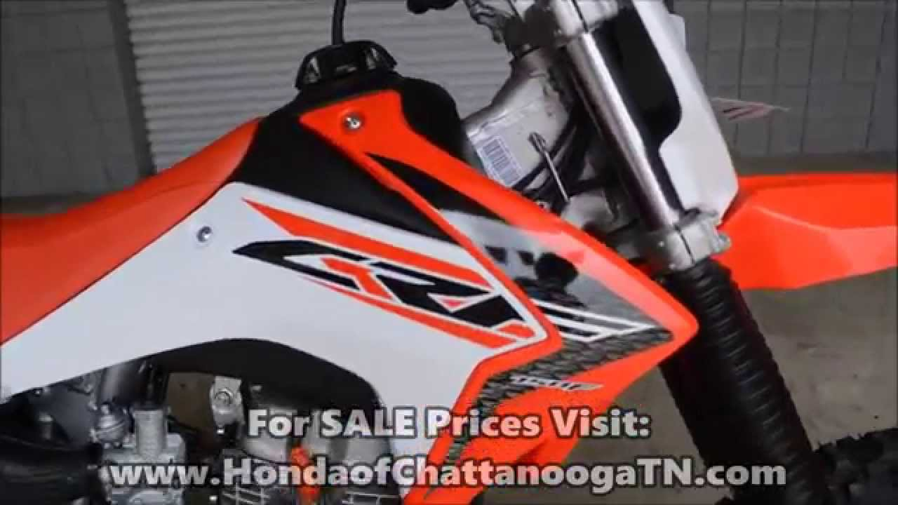 small resolution of 2015 honda crf150 for sale chattanooga tn ga al crf dirtbike dealer youtube