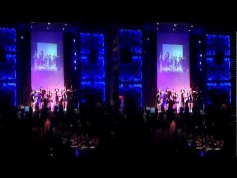 Hard Rock Staff Dancing Jai Ho- DFC -Dubai in 3D(13-02-2012)