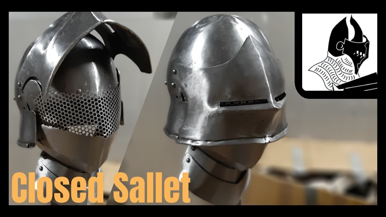 Making a Closed Sallet - Part 4, Kinda