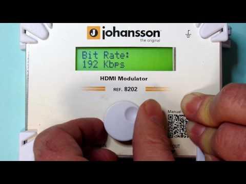 Johansson 8202 HDMI to DVB-C, DVB-T modulator