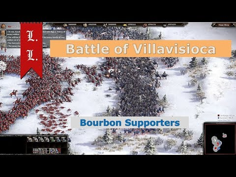 Cossacks 3 online Historical Battle - Battle of Villaviciosa - Bourbon Supporters (#65)
