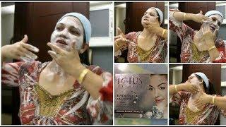 फेशियल करने का सही तरीका | फेशियल स्टेप | Diamond Facial at home  | Lotus Herbals