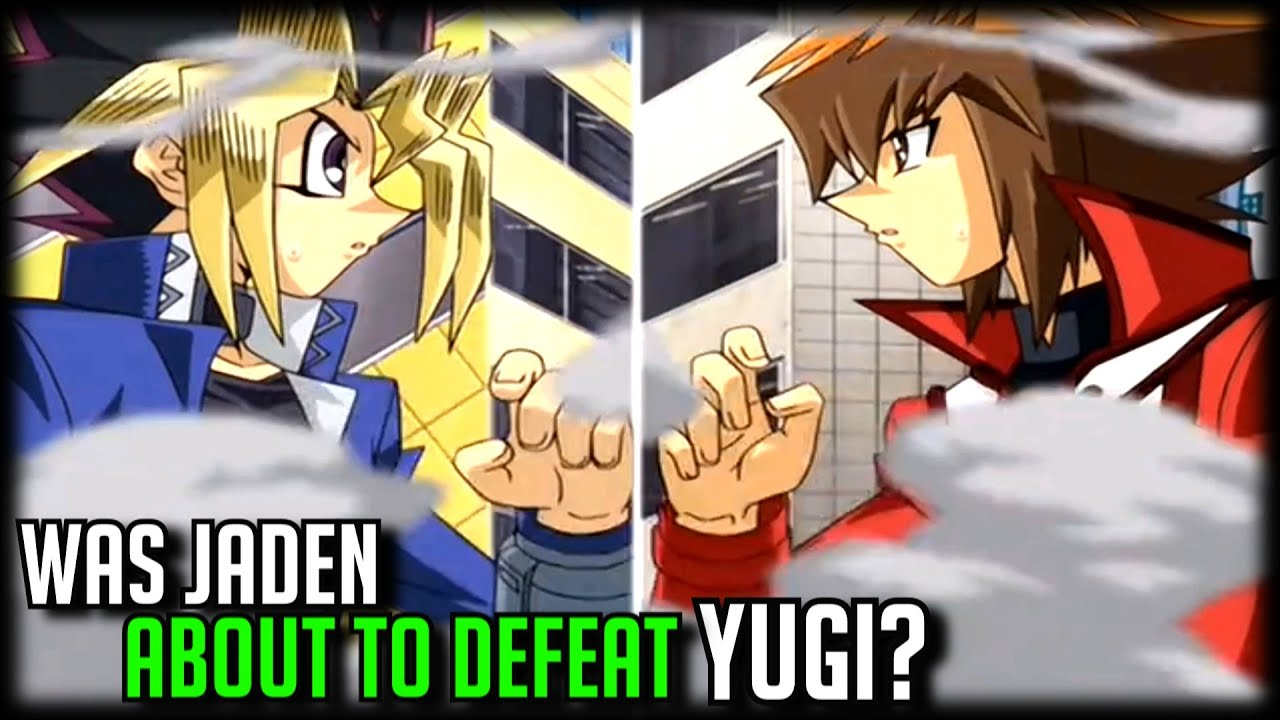 Was Jaden About To Defeat Yugi? [Yugioh GX Finale]