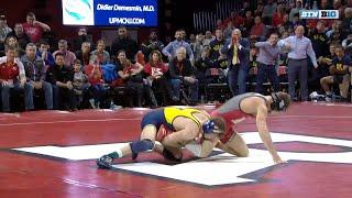 Top Plays: Michigan at Rutgers | Big Ten Wrestling