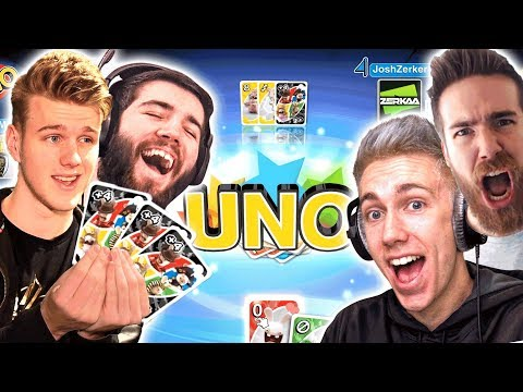 WINNING THE WHOLE GAME IN ONE HAND?!? (UNO)