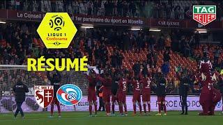 FC Metz - RC Strasbourg Alsace ( 1-0 ) - Résumé - (FCM - RCSA) / 2019-20