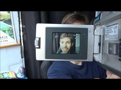 Panasonic VHS-C Movie Camera.- CAMERA COLLECTION