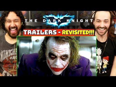 THE DARK KNIGHT (TRAILERS REVISITED) - How Accurately Portrayed Was The Movie?!
