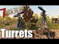 7 Days to Die Turret Guide - Auto Turret & Shotgun Turret (Alpha 16)