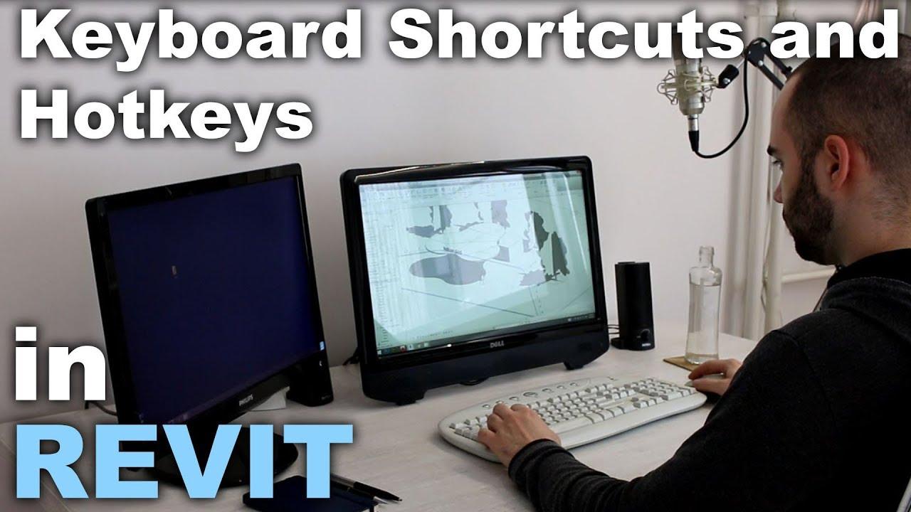 Revit Keyboard Shortcuts and Hotkeys Tutorial