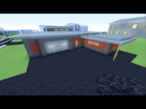 Minecraft Live - Building Lawn Care Shop