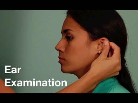 Ear Examination with Weber and Rinne Test