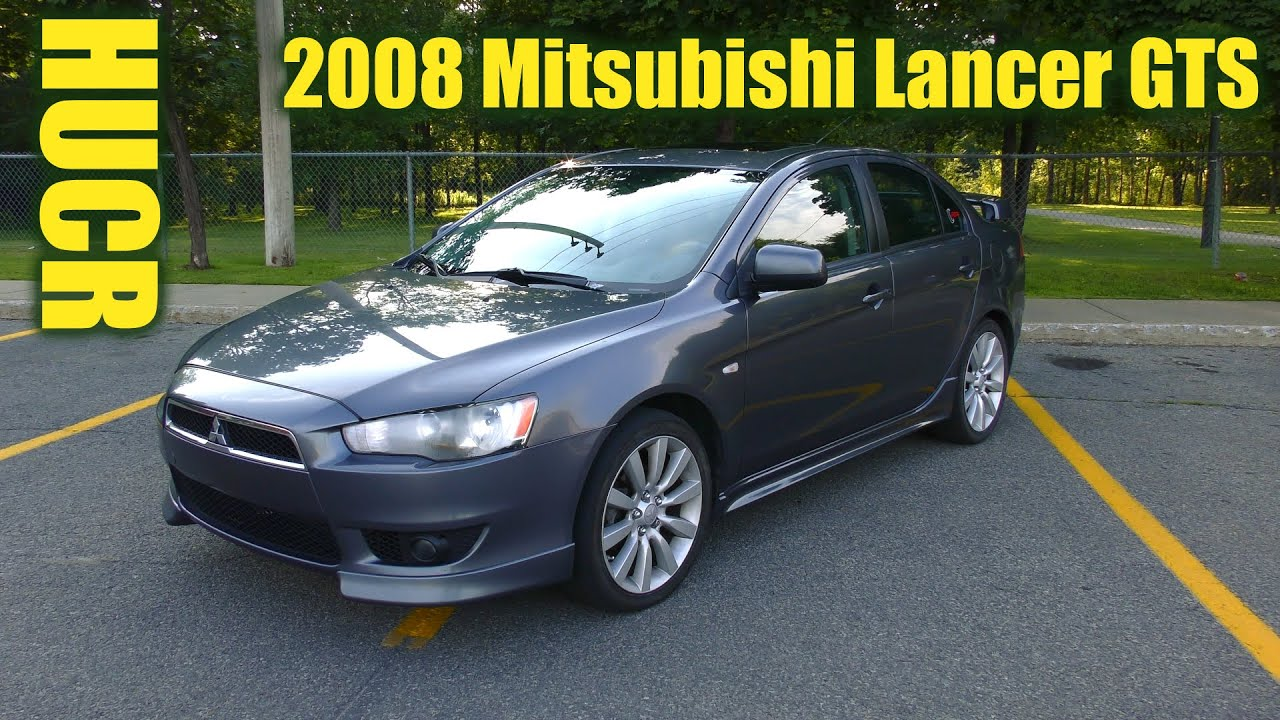 2008 mitsubishi lancer gts hucr youtube. Black Bedroom Furniture Sets. Home Design Ideas