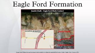 The eagle ford formation (also called shale) is a sedimentary rock from late cretaceous age underlying much of south texas in th...