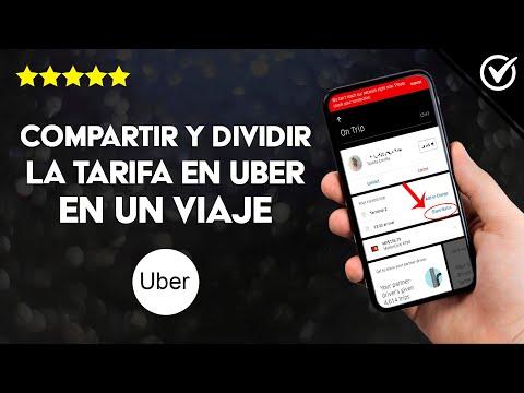 Cómo Compartir y Dividir la Tarifa en Uber en un Viaje con Alguien más Abordo